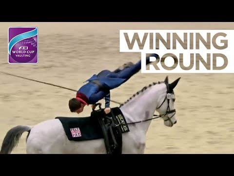 Lukas Heppler beats Jannis Drewell in Offenburg | FEI World Cup™ Vaulting