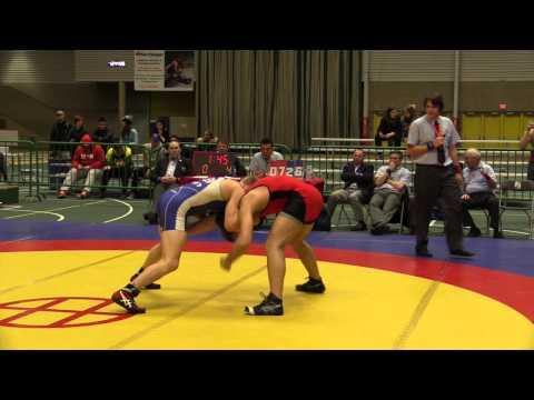 2014 Senior Greco-Roman National Championships: 80 kg Colton Boxwell vs. Matthew Miller