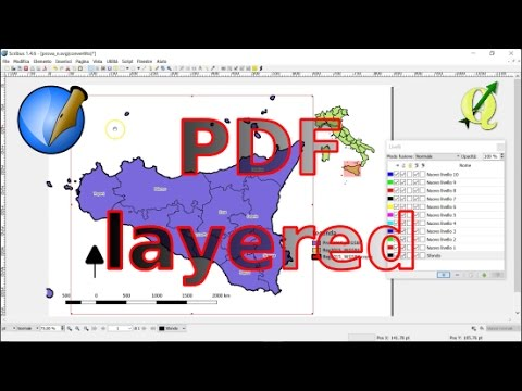 QGIS: esportare in PDF layered (a strati)