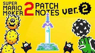 Super Mario Maker 2 NEW UPDATE v2.0 Breakdown