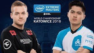 CS:GO - FaZe vs. Cloud9 [Inferno] Map 3 - Quarterfinal - IEM Katowice 2018