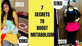 Top 7 Secrets to Maintain My Weight Loss Journey |How I lost 18kgs in 6 months |Somya Luhadia