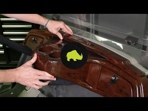 DASH-0077 RHOX Custom Dash And DASH-0093 RHOX Dash Insert On A Yamaha Drive