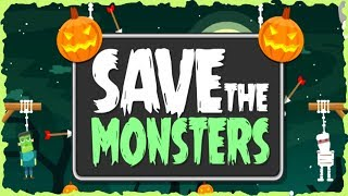 Save The Monsters Halloween Game Walkthrough