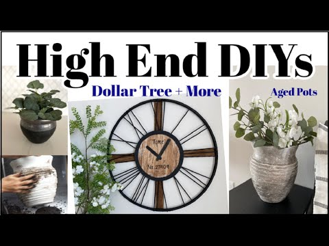 High End Dollar Tree DIY Home Decor + Hobby Lobby Decor Dupe & More