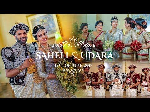 Saheli \u0026 Udara Full Wedding Day Video - 4K
