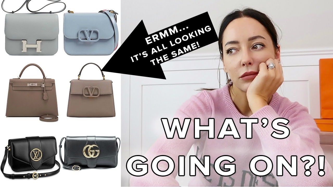 Erm, this is weird.... it all looks the same 🤔 / POPULAR 2020 BAGS: NEW TREND or POTENTIAL CLASSICS?