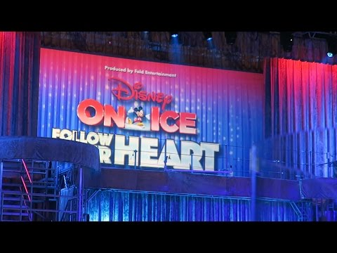 Disney on Ice - Follow Your Heart 2017 (Frozen, Finding Dory, All Princesses) - Front Row Tickets