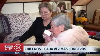 Chilenos cada vez más longevos: Berta Moya cumplió 105 años en Talcahuano