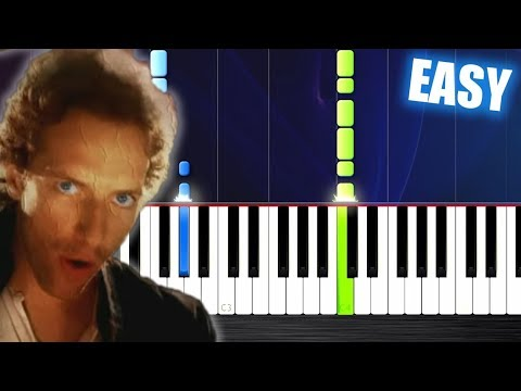 Coldplay - Viva La Vida - EASY Piano Tutorial by PlutaX