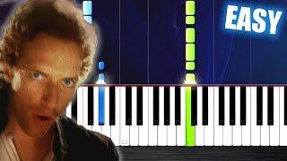 Baixar Coldplay - Viva La Vida - EASY Piano Tutorial by PlutaX