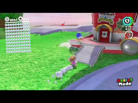 Depositing 100 Power Moons at Once in Super Mario Odyssey
