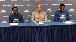 MBB: Hofstra Postgame Press Conference vs. Drexel (2/17/18) thumbnail
