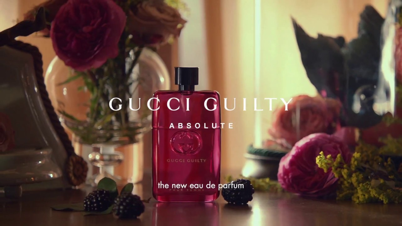 dae7c2eb435d Gucci Guilty Absolute Pour Femme - YouTube