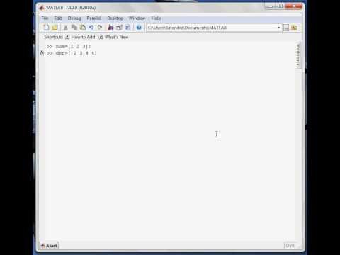 Matlab Basics Tutorial Part- 14: Transfer function Bode Plot