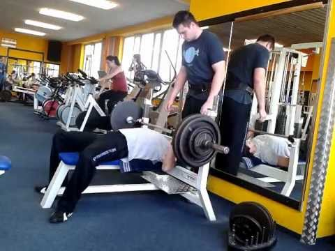 Bench press 100kg - my weight 70kg