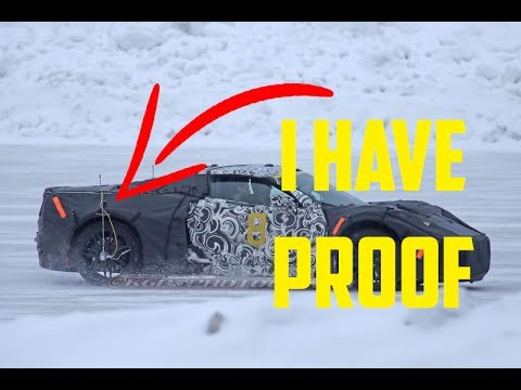 The 2020 Corvette mid engine is REAL. I have proof in this Vlog