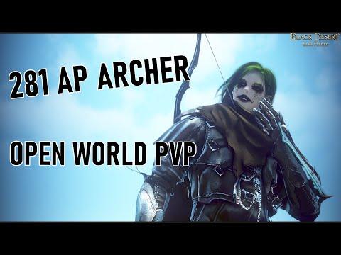 BDO 281 AP Archer Open World PvP #1