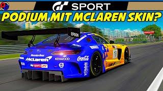 DER MCLAREN MERCEDES | Gran Turismo Sport | MERCEDES AMG GT3 @ Interlagos | GT Sport Gameplay German
