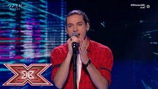«Way_down_we_go»_από_τον_Δημήτρη_Παπατσάκωνα_|_Live_4_|_X_Factor_Greece_2019