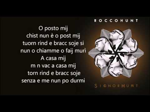 Rocco Hunt | O post mij [lyrics]
