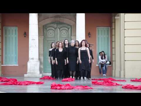 """Art & Activism """"Freedom of Movement and Expression"""" by Fysalida Dance - Crete, 29 April 2013"""