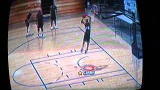 Vince Carter NBA Inside Drive 2004 Various Dunk Animations