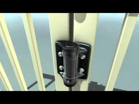 Tru Close Heavy Duty Adjustable Self Closing Gate Hinge