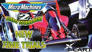 Micro Machines 2: Turbo Tournament - New Time Trials