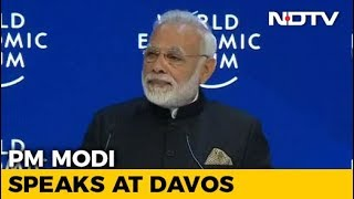 Full Speech PM Modi Addresses World Leaders CEOs At Davos