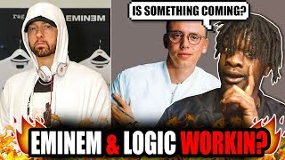 Eminem & Logic Working Together! (New Song Coming?)