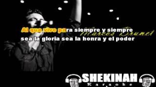Marcos Brunet - Al que está sentado en el trono(karaoke)