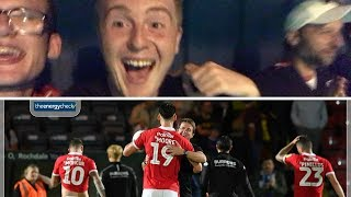 Rochdale 0 Barnsley 4 | WHAT A RESULT!!! | Matchday Vlog#5