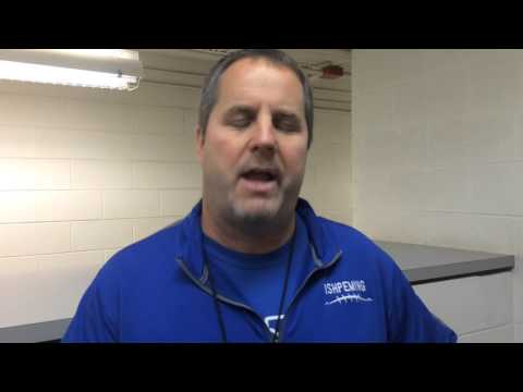Ishpeming football coach Jeff Olson talks about third state title in four years