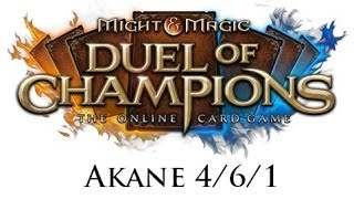 Might & Magic: Duel of Champions - Akane 4/6/1 Akademia - Dżinn skażona pustką