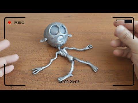 Самая СТРАШНАЯ игрушка антистресс Инопланетянин Как напугать человека