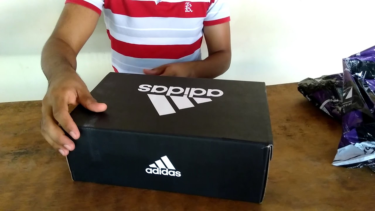 Unboxing Chuteira Society Adidas Conquisto II TF ( Netshoes ) - YouTube 1d1a45848fe86