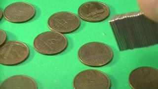 Магнитные монеты СССР 1, 2, 3 и 5 копеек 1961-1991! Происхождение. Цены.
