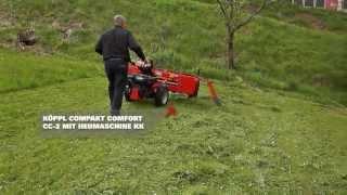 KÖPPL Compakt Comfort CC-2 mit Heumaschine KK