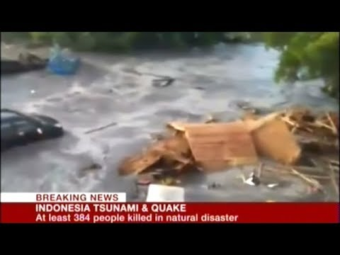 Earthquake And Tsunami Kills Hundreds Of People In Indonesia