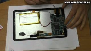 Как узнать модель сенсорного дисплея.  На примере планшета Android Tablet PC