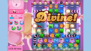 Candy Crush Saga Level 5437 NO BOOSTERS Cookie