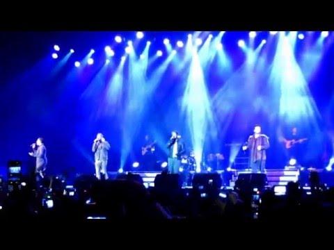 Westlife Gravity Tour in Jakarta 2011