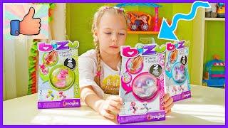 Детский браслет игрушка РАСПАКОВКА Играю Как собрать Магические браслеты трансформеры на руку