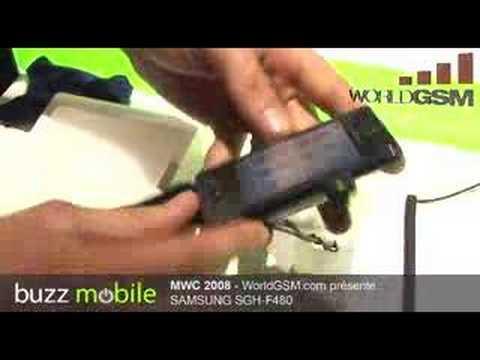 MWC 2008 : SAMSUNG SGH-F480