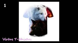 T-shirt Animals print/Футболки с изображением животных