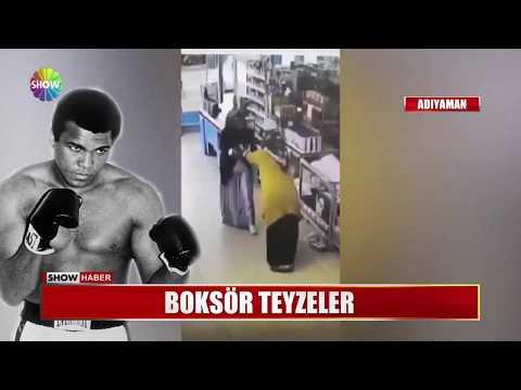 Marketteki Boksör Teyzeler Muhammed Ali'ye Taş Çıkarttılar