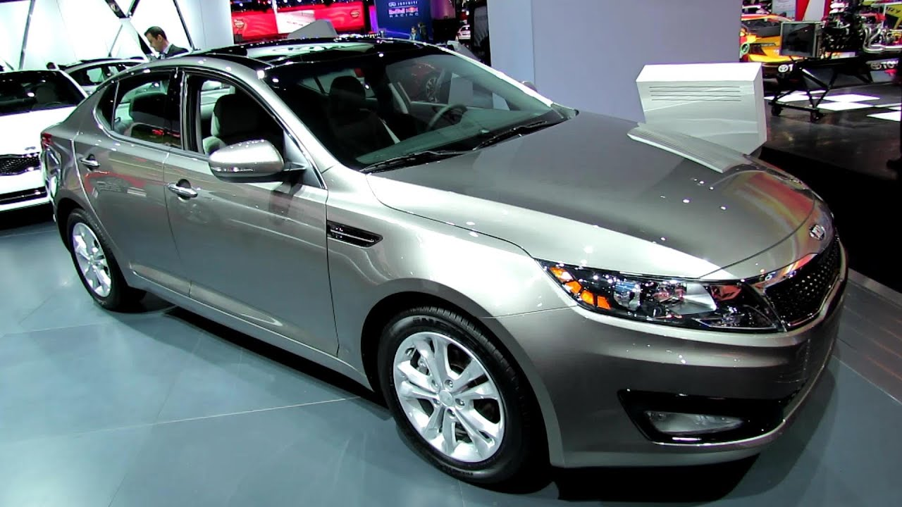 2013 KIA Optima EX GDi   Exterior And Interior Walkaround   2013 New York  Auto Show   YouTube