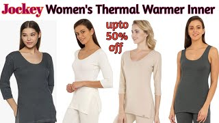 Top 10 jockey womens inner thermal warmer thermal underwear for women warmer for winter warmer