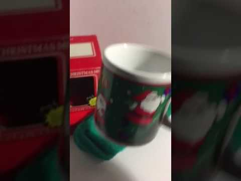 Musical Christmas mug 1986 telco